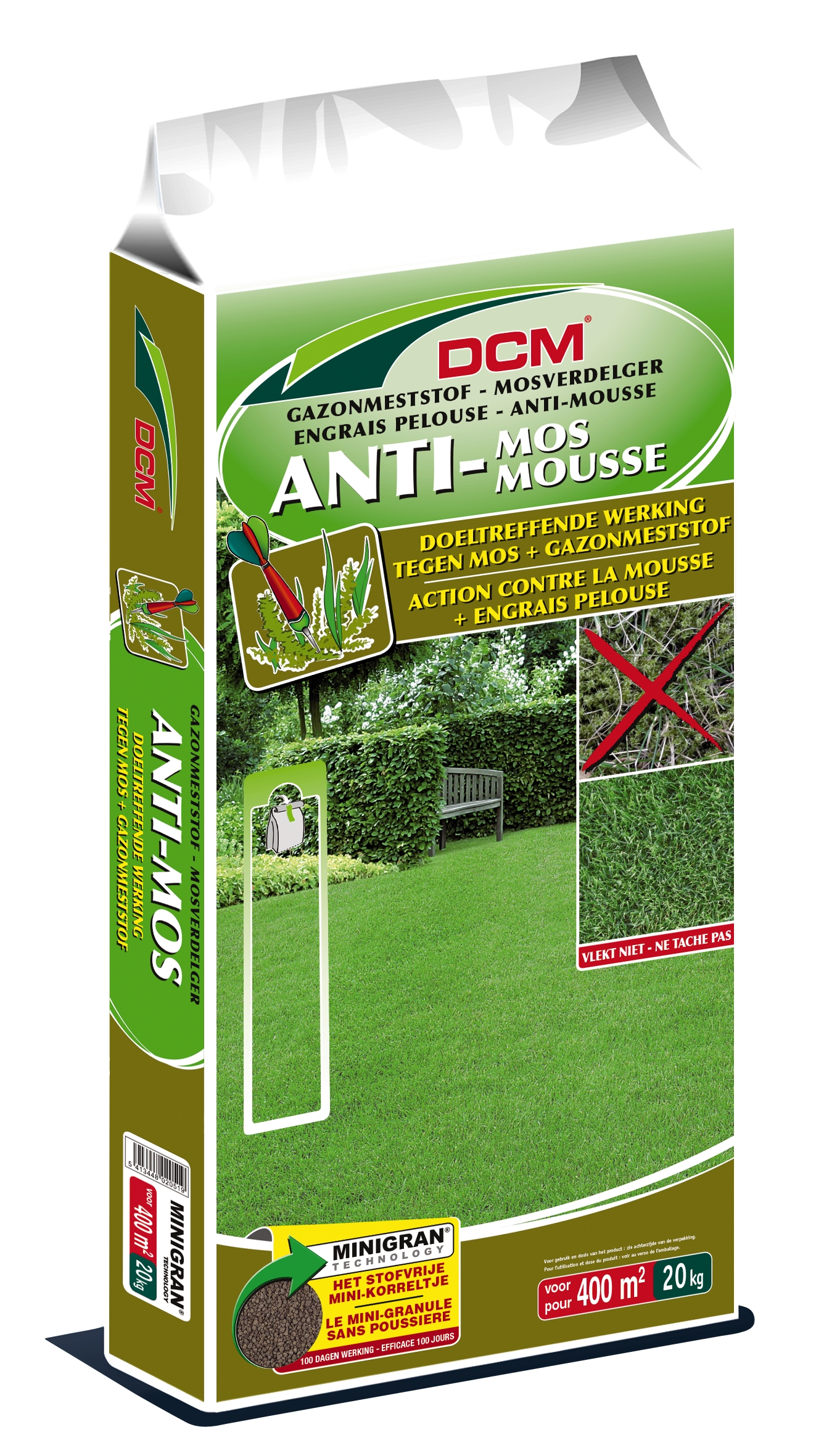 Dcm Gazonmeststof Anti-Mos