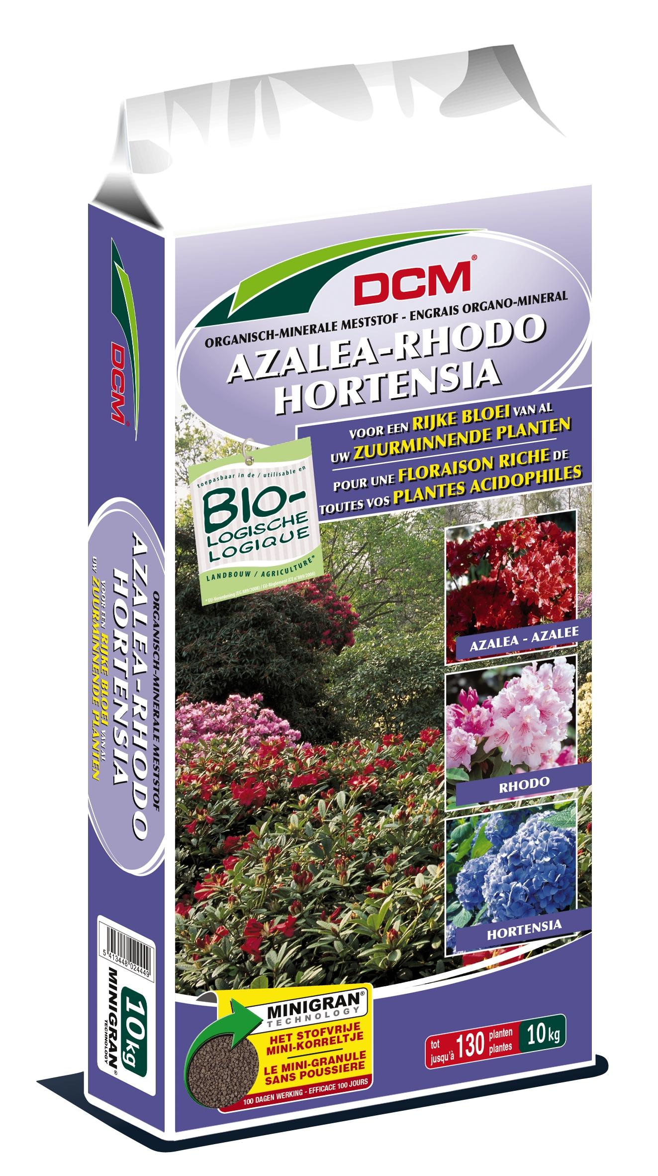 Dcm Organisch-Minerale meststof Rhodo, Hortensia & Azalea.