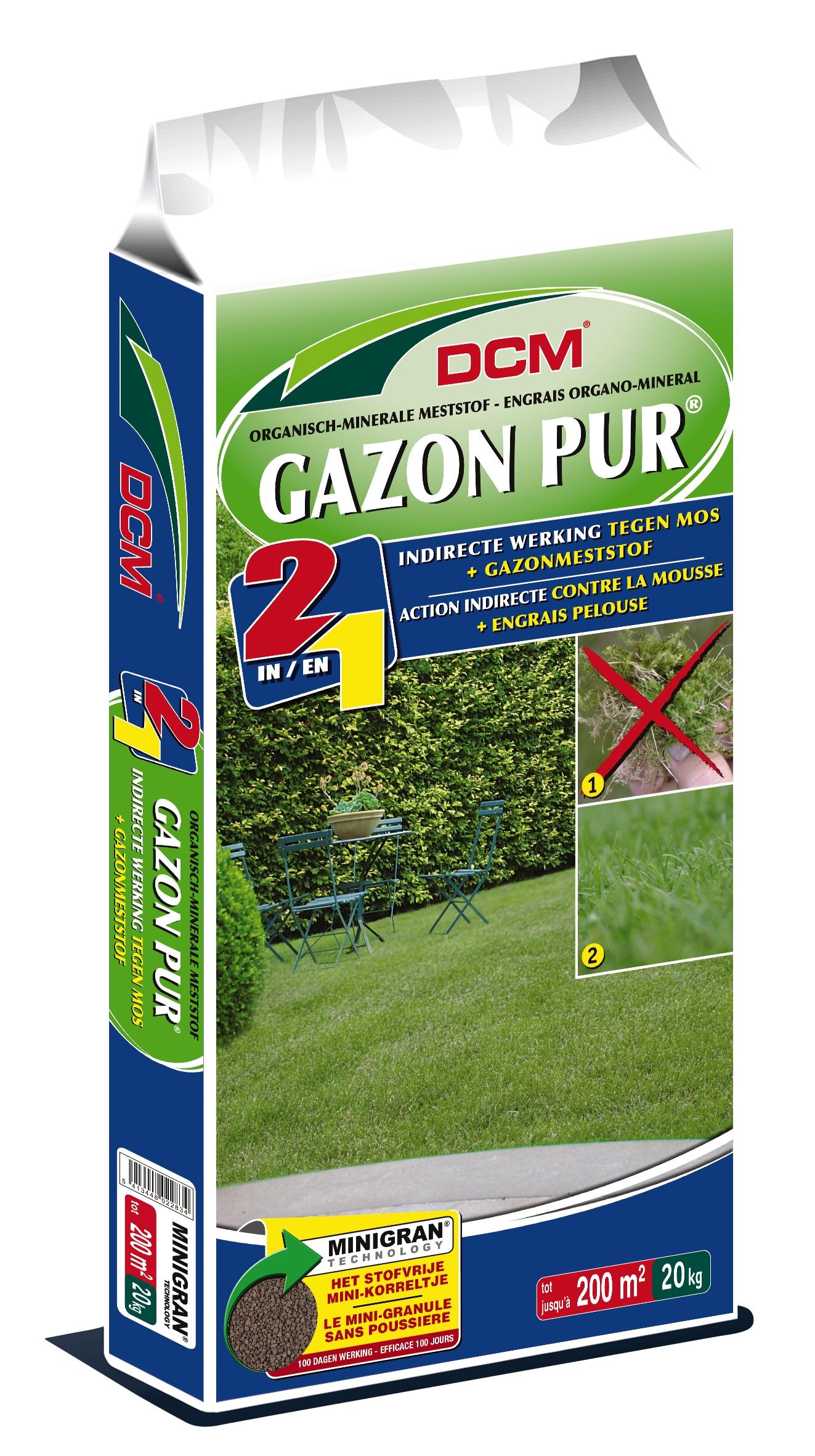 Dcm Gazonmeststof Gazon Pur