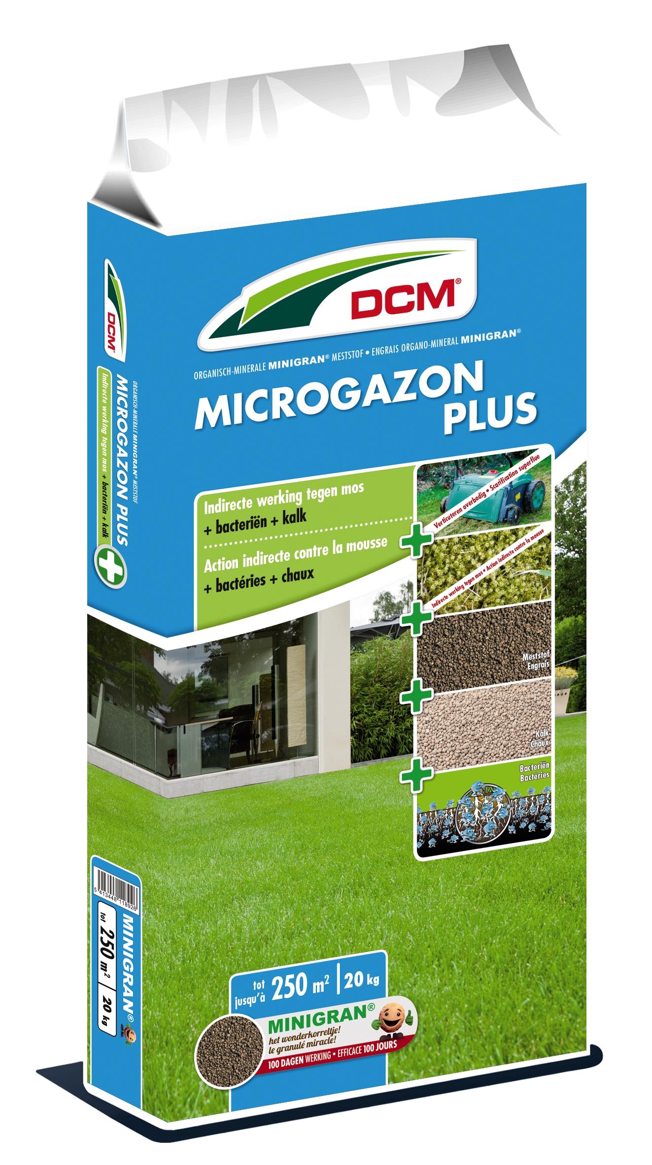 Dcm Gazonmeststof Microgazon Plus