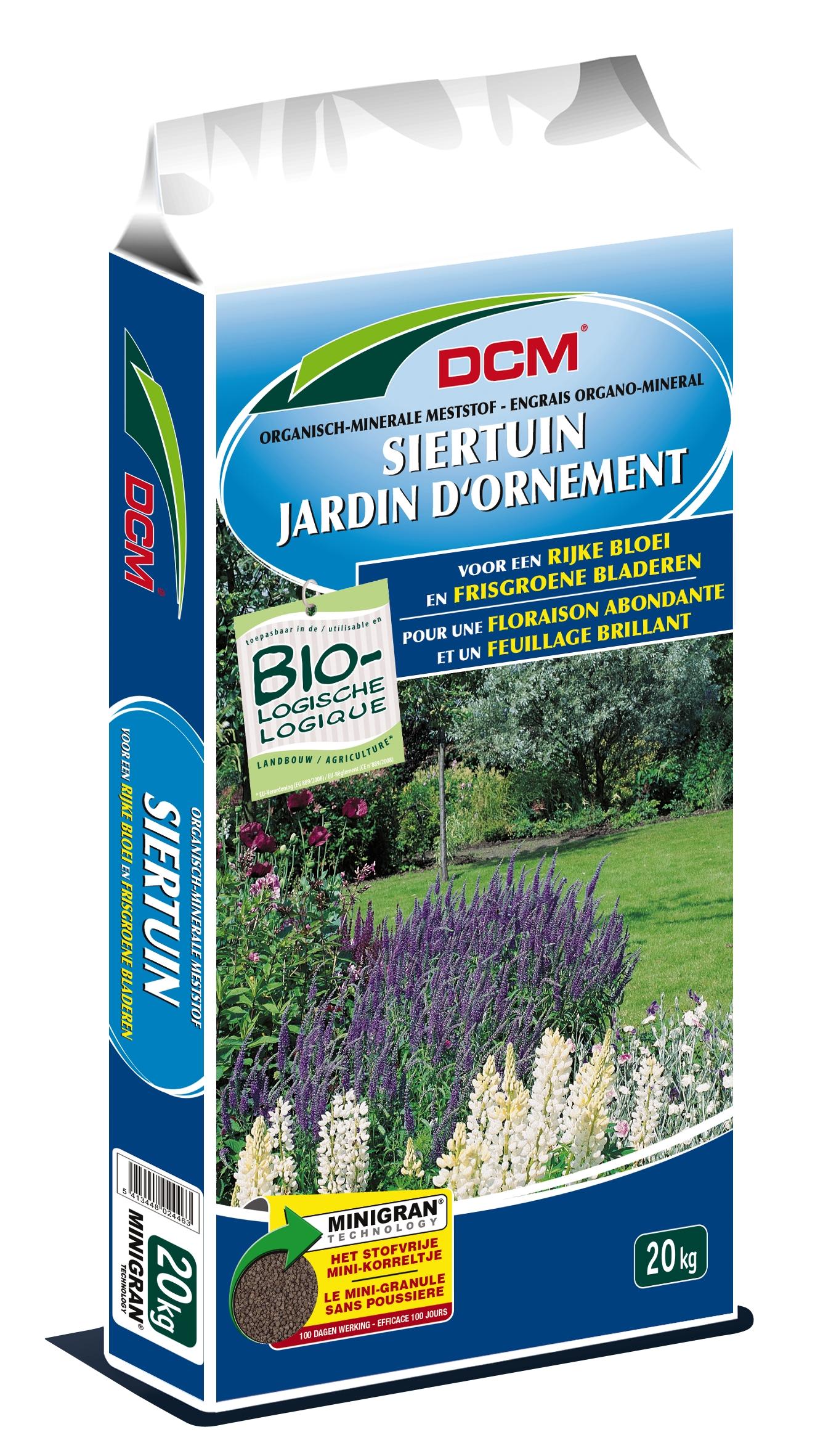 Dcm Organisch-Minerale meststof Siertuin.