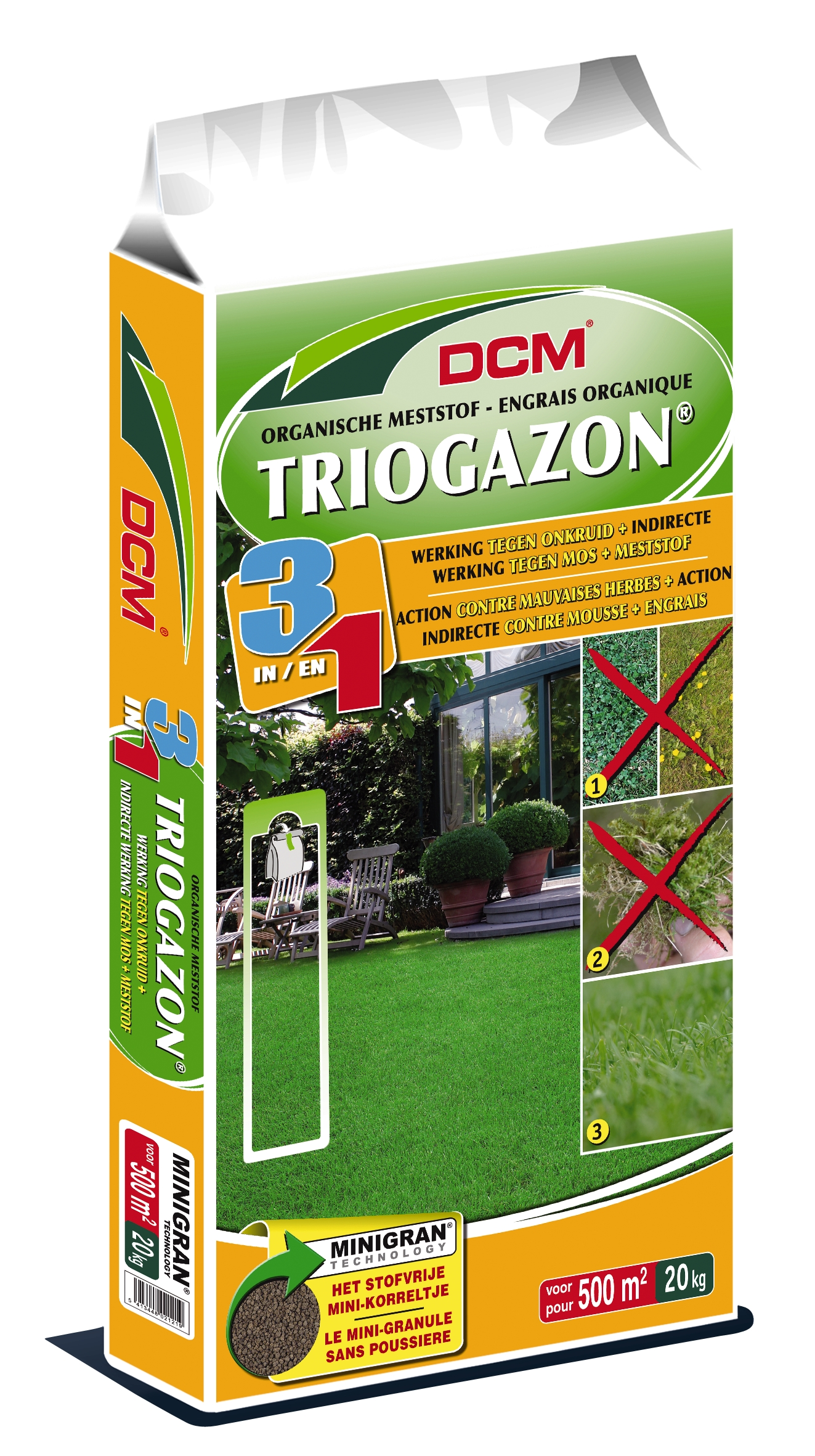 Dcm Gazonmeststof Triogazon