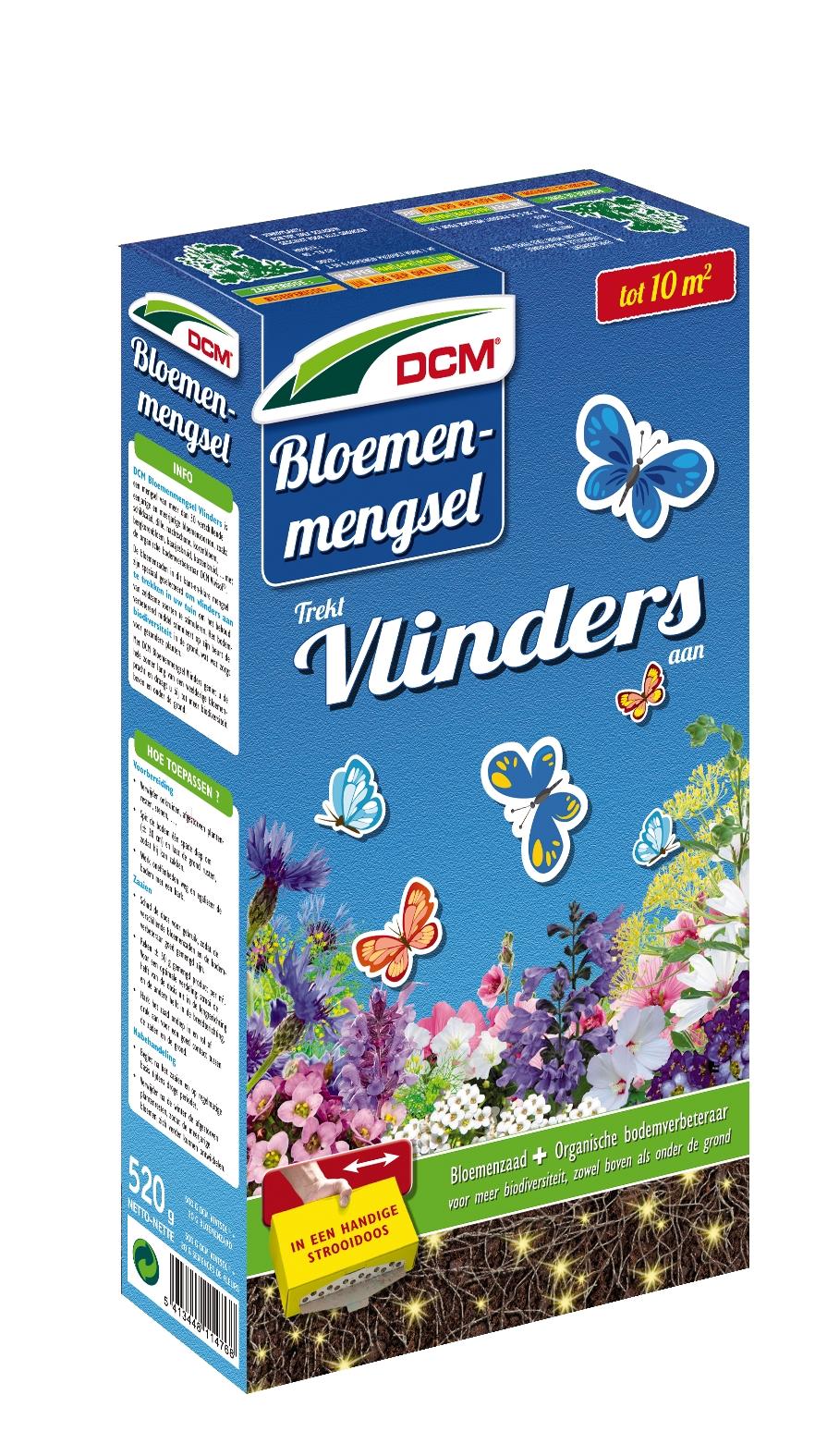 Bloemenmengsel Vlinders