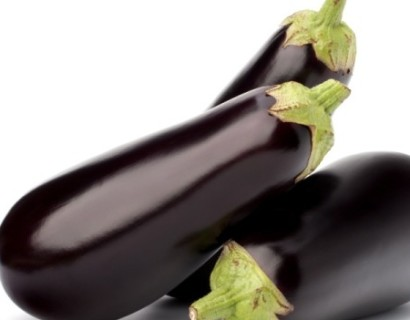 Aubergine - groene asperge
