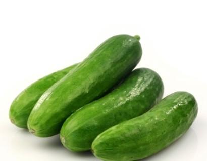 Snack komkommer - rabarber