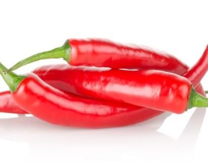 Spaanse peper - rabarber