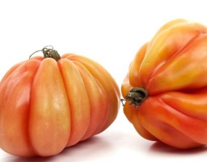 Coeur de boeuf tomaat - groene asperge