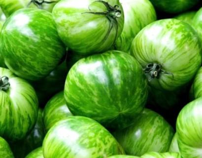 Green zebra tomaat - aardbei