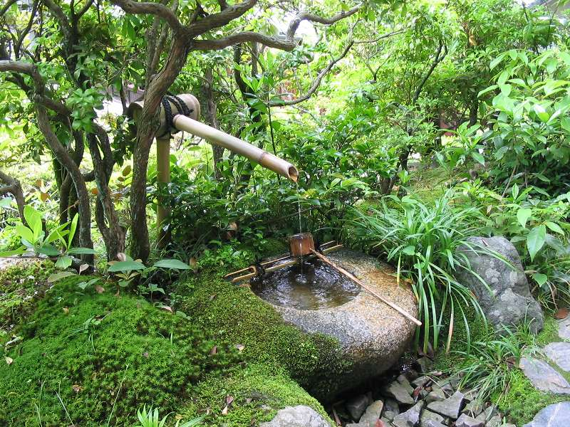 tsukubai japanse tuin