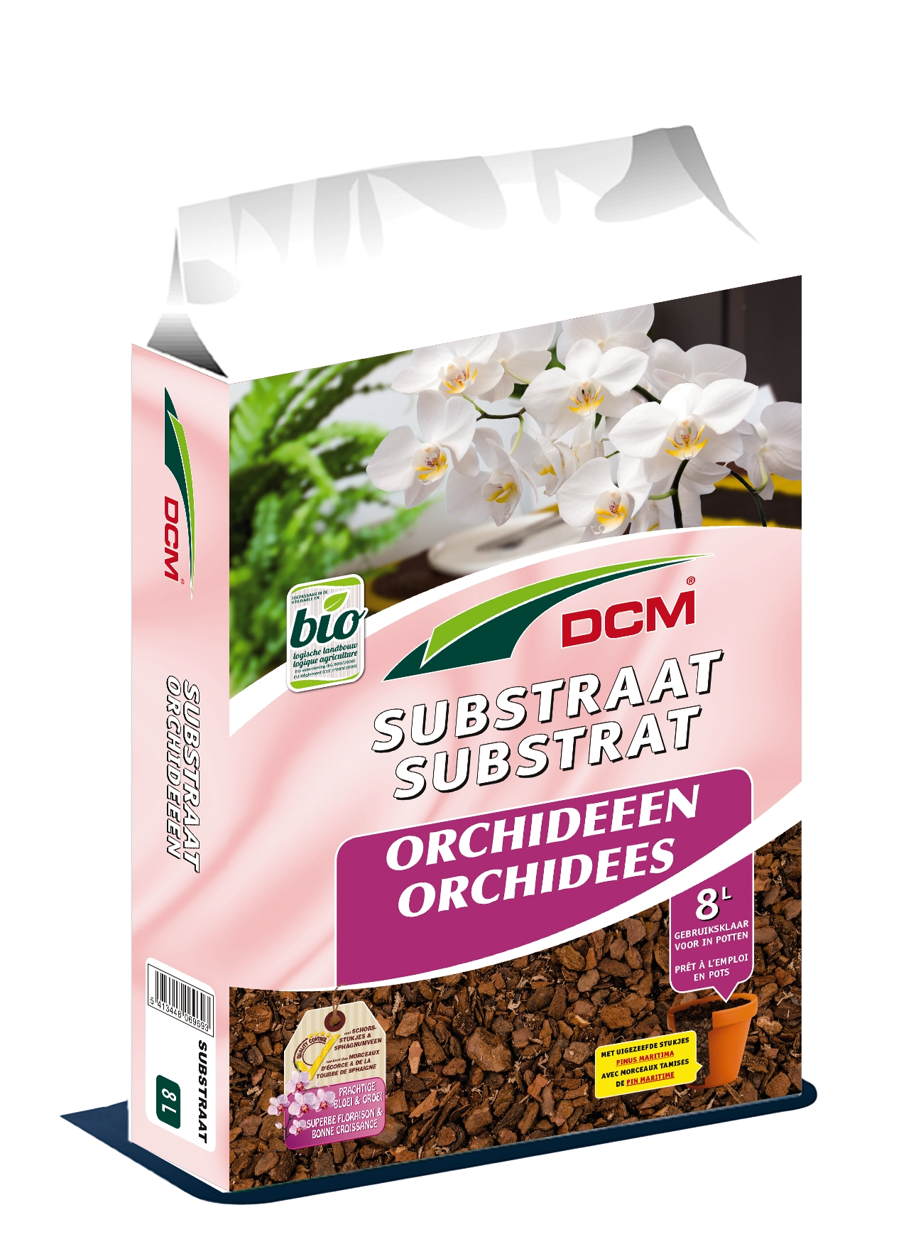 Dcm Orchideeënsubstraat.