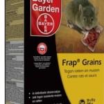 Last van muizen: de oplossing Edialux Sorkil-G graantjes en Bayer Frap Grains.