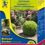 Butisan Garden voorkomt onkruidgroei tussen sierplanten.