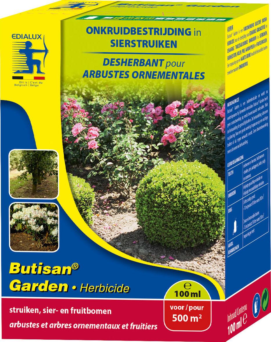 Butisan Garden voorkomt onkruidgroei tussen sierplanten