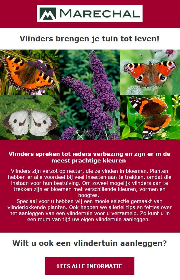 Tuincentrum Maréchal - nieuwsbrief voorbeeld